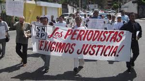 periodistas exigen justicia
