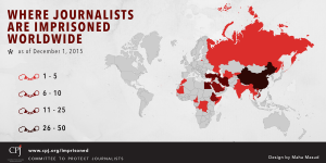 periodistas en prision